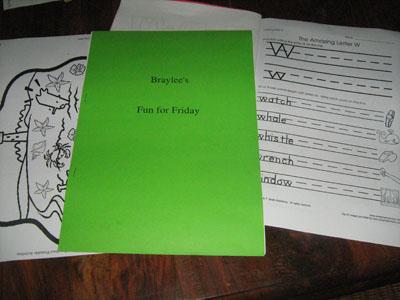 workbook w