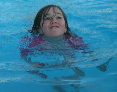 a swim lesson